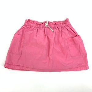 Hanna Andersson 110 5 Pink Drawstring Cotton Skirt